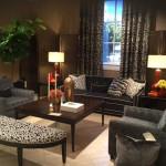 Animal print living room, interior design