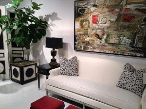 Modern Art in living room, MGSD, interior design trends for 2017