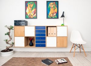 modern bookcase, MGSD, interior design trends