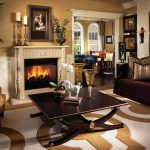 Traditional living room, warm tones, interior design in Brevard, from Michael Gainey Signature Designs