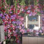 Floral Accent Wall, Kohler display, Michael Gainey Signature Design