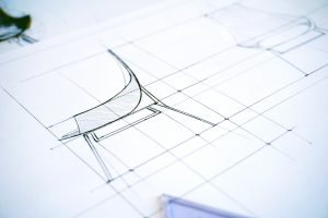 Sketch of a chair, Michael Gainey Signature Designs