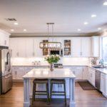 Bright modern open kitchen, Melbourne interior design