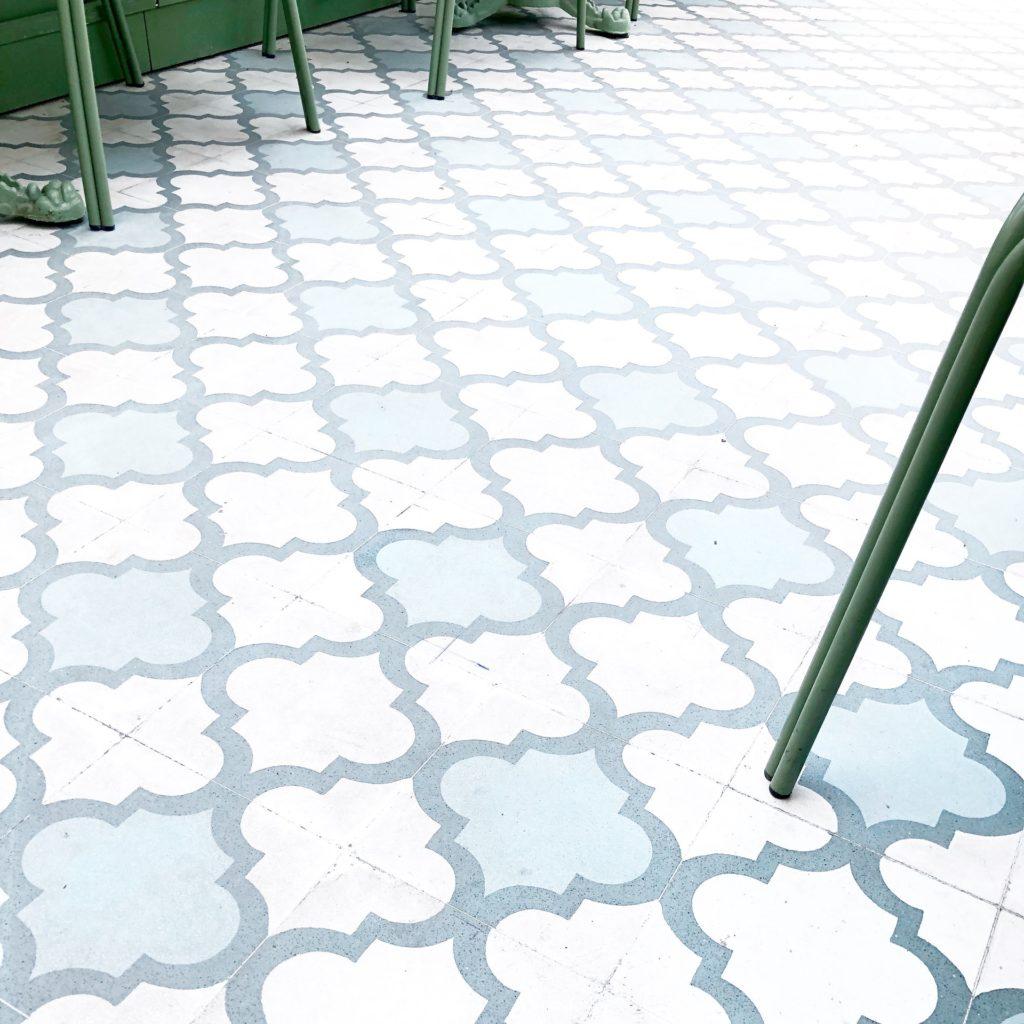 Decorative cement tile; Michael Gainey Signature Designs Melbourne FL