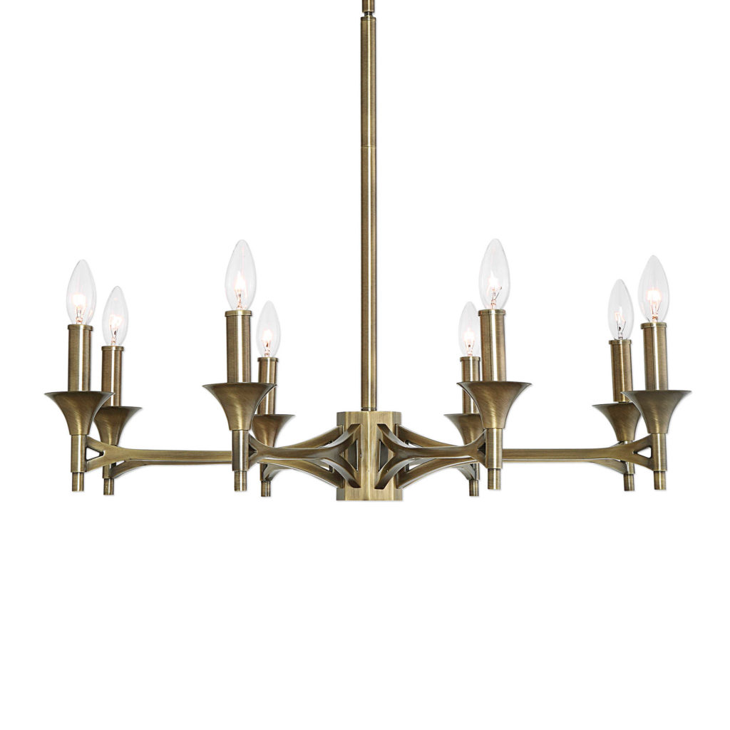 Candle chandelier; Uttermost; interior design lighting; MGSD