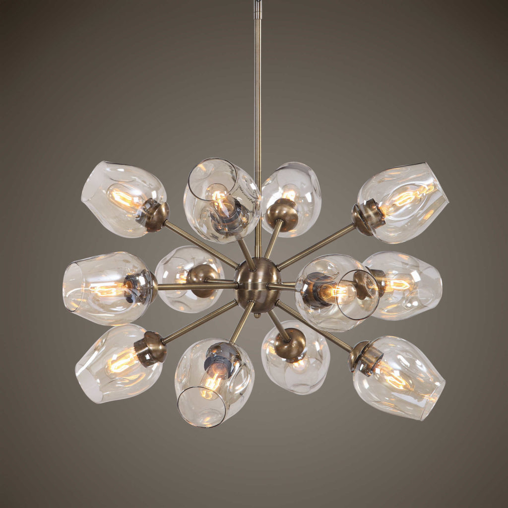 Sputnik chandelier; Uttermost; interior design lighting, MGSD