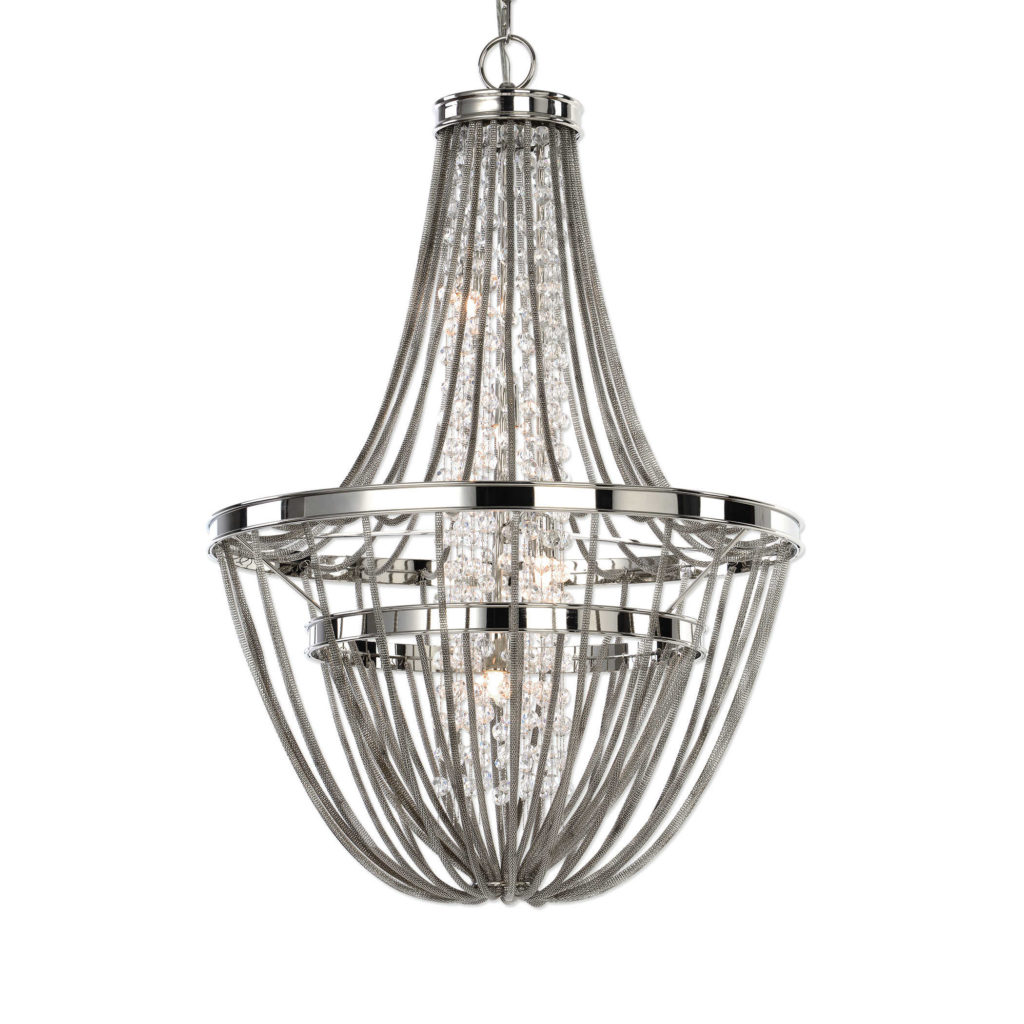 Chandelier Uttermost; MGSD, interior design lighting