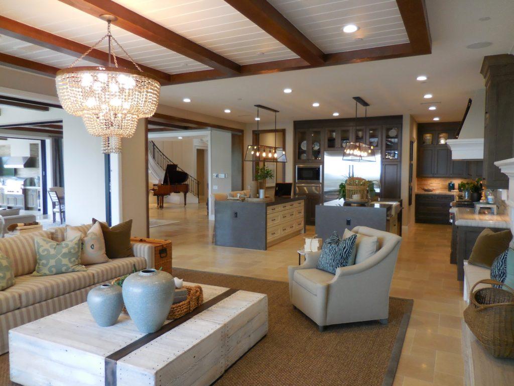 Open living space; contemporary interior design, MGSD