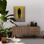 Sideboard in living room; Melbourne interior design; Michael Gainey Signature Designs