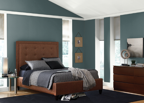 Interior design tool sample photo from ColorSmart by Behr tool; MGSD