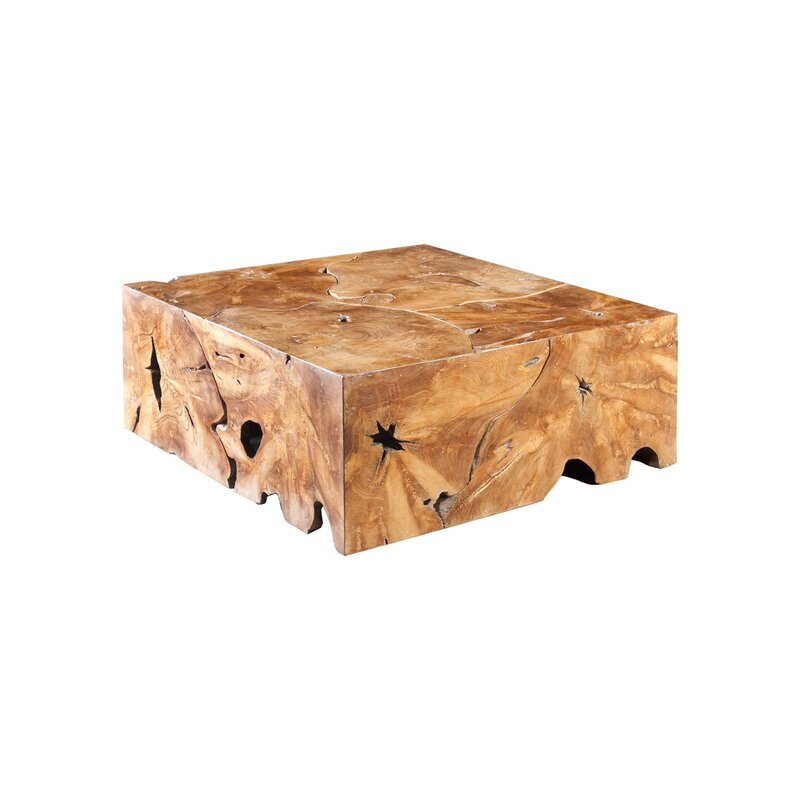 Teak wood coffee table Perigold, interior design trend, MGSD