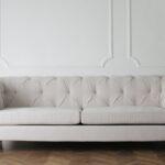 Tufted cream sofa; sofa buying guide MGSD