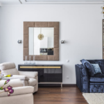 Stylish living room; interior decorating Brevard; Michael Gainey Signature Designs