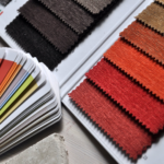 Fabric and color swatches; sofa buying guide MGSD