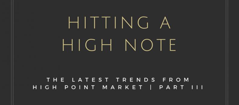 Interior Design Trends from High Point Market – Part III