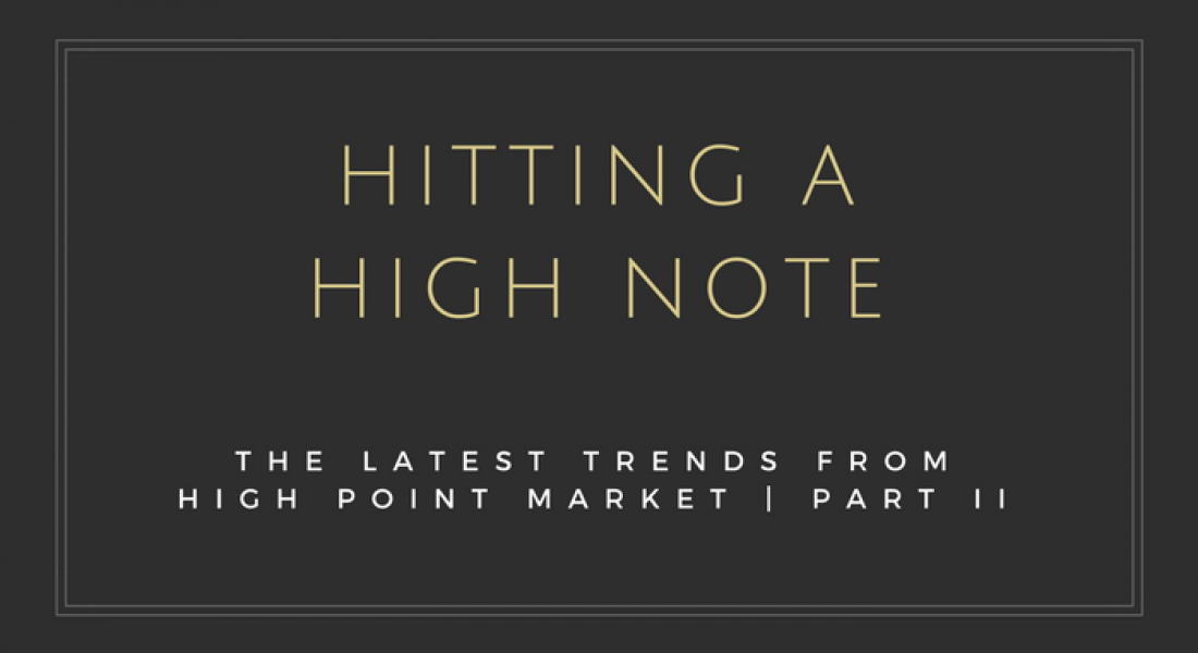 Interior Design Trends from High Point Market – Part II
