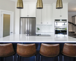 Colorful Kitchen Countertops with Character