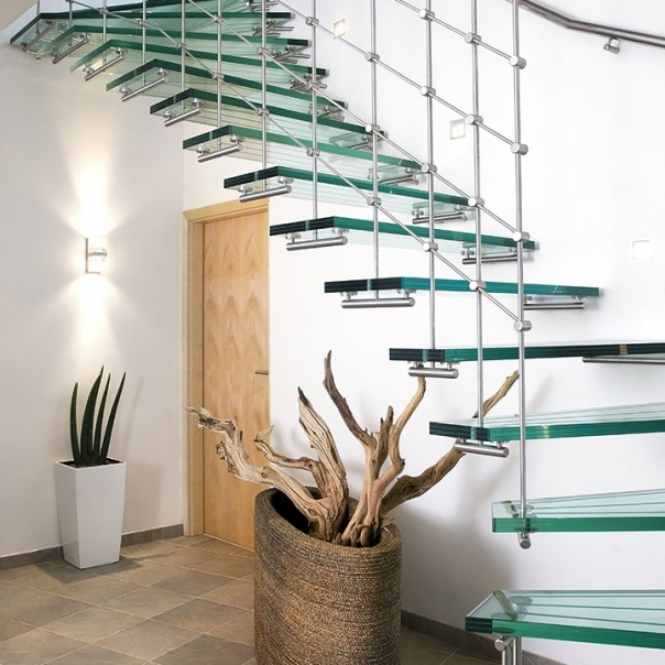 Sea Glass Inspired Steps